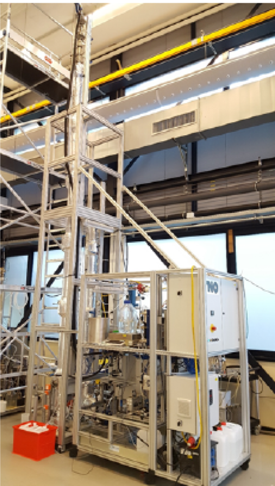 Solvent testing facility. Photo: TNO