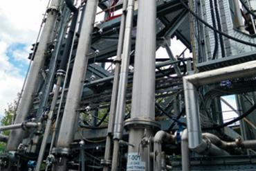 Retrofit solutions with post-combustion capture with solvents